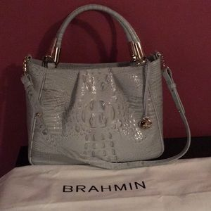 Brahmin satchel/shoulder bag